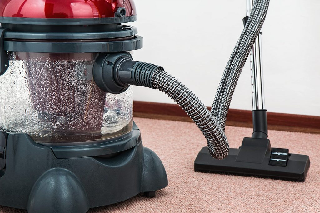 Nasssauger auf Teppichboden