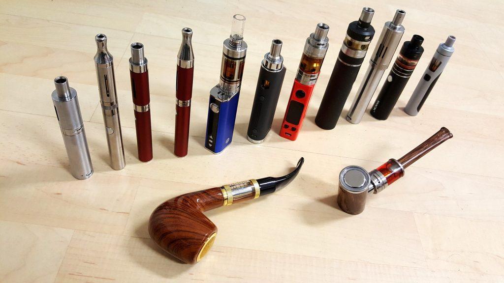 Diverse E-Zigaretten